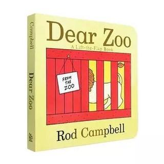 《Dear Zoo亲爱的动物园》英文原版