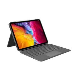 罗技(Logitech)Folio Touch ipad背光键盘保护套 妙控键盘 配备触控板 适配11英寸iPad Pro(第一、二代)