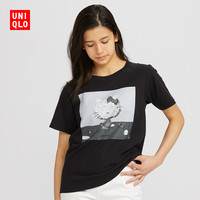 UNIQLO 优衣库 428142 H KITTY x YUNI 女士印花T恤