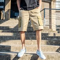 Dickies短裤 夏季拼接短裤 男式腰部裤袢设计短裤子 短裤男DK007357 沙色 30