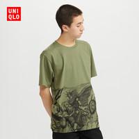 UNIQLO 优衣库 427617 MANGA 中性款印花T恤
