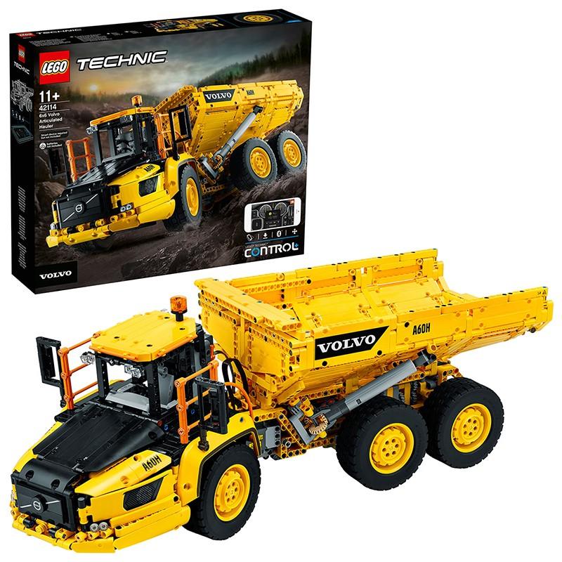 LEGO 乐高 科技系列 42114 沃尔沃绞链式自卸车
