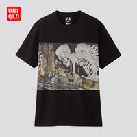 UNIQLO 优衣库 EDO UKIYO-E 425625 中性款印花T恤