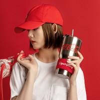 MINISO 名创优品 可口可乐吸管杯 850ml