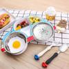广意 (GRASEY)304不锈钢汽车儿童餐具组合套装 婴儿辅食碗 叉子勺子 三件套 GY7567