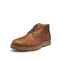 Timberland 添柏岚 A2A17W 男款牛皮工装短靴