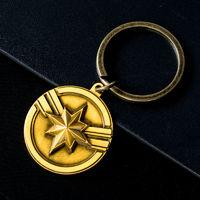 MARVEL 漫威 复仇者联盟钢铁侠惊奇队长 钥匙扣