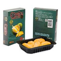留口福 猫山王马来西亚液氮冷冻榴莲肉 400g*2盒装