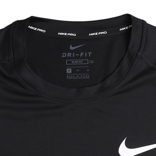 NIKE 耐克 PRO系列 男子运动T恤 BV5632-010 黑色 L