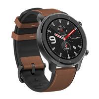 Amazfit/华米 A1901 GTR手表 智能户外手表男女防水多功能华米 铝合金机身 47mm 1.39英寸 支持NFC门禁卡