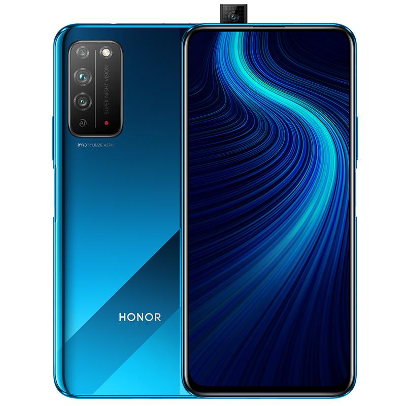 HONOR 荣耀 X10 5G手机 6GB+128GB 竞速蓝
