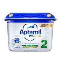 Aptamil  爱他美 白金版HMO 安心罐 婴幼儿配方奶粉 2段800g/罐 *3件