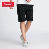 限码:Baleno 班尼路 88810009 男士 印花短裤