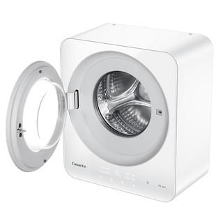 卡萨帝(Casarte) 3KG/公斤 全自动变频小型迷你壁挂式滚筒洗衣机 儿童宝宝婴儿迷你  紫外线杀菌 C3 3W1U1 白色
