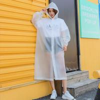 探浩 TANHAO 半透明磨砂成人雨衣 S99