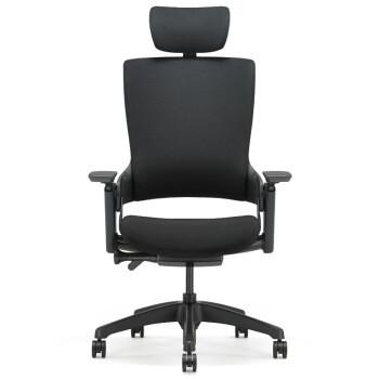 京东PLUS会员:UE 永艺 Mellet 人体工学椅(经典黑布黑框)