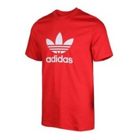 adidas阿迪达斯三叶草男装运动服户外休闲透气半袖圆领短袖T恤topsports EJ9678