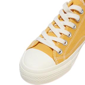 hotwind 热风 系带平底男士休闲鞋布鞋 H14M9513 黄色 40