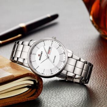 BERSINEY 波西尼商务超薄手表  ROSA系列 BM8307.SSW男款