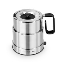 nathöme/北欧欧慕 不锈钢调温控温烧水壶 NSH6510 银白色 0.6L