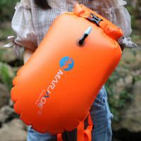 力泳 802 游泳浮漂装备 干湿分离游泳包 20L