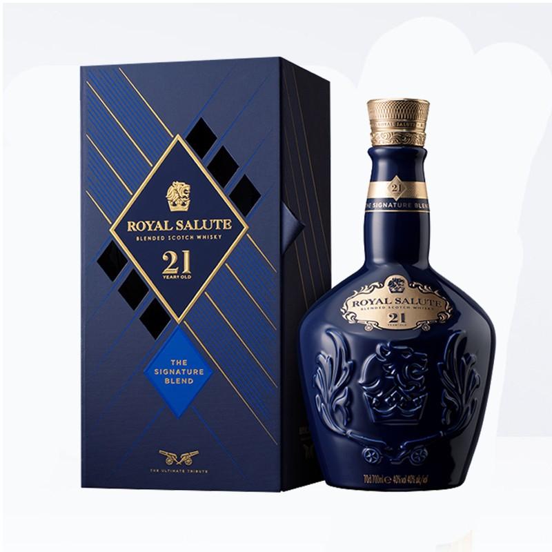 CHIVAS 芝华士 皇家礼炮 21年 苏格兰威士忌 40%vol 700ml
