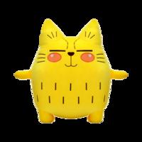 OTWO 可爱抱枕猫咪玩具 45cm猫+凑单品