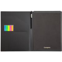 COMIX 齐心 Compera系列 C8201 多功能商务管理册 黑色 A4 +凑单品