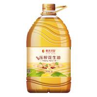 恒大 兴安纯香压榨花生油 5L/桶