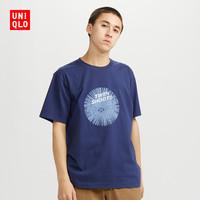 UNIQLO 优衣库 431276 男士纯棉印花短袖T恤