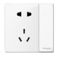 7日0点:Schneider Electric 施耐德电气 皓呈系列 五孔86型电源插座 带单控开关