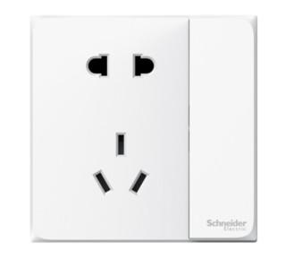 Schneider Electric 施耐德电气 皓呈系列  带开关插座 五孔带单控开关