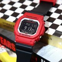 CASIO 卡西欧 G-SHOCK系列 GW-M5610RB-4 复古小方块运动腕表
