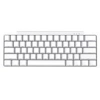 iKBC poker pro 侧刻无线机械键盘 61键 红轴 白色