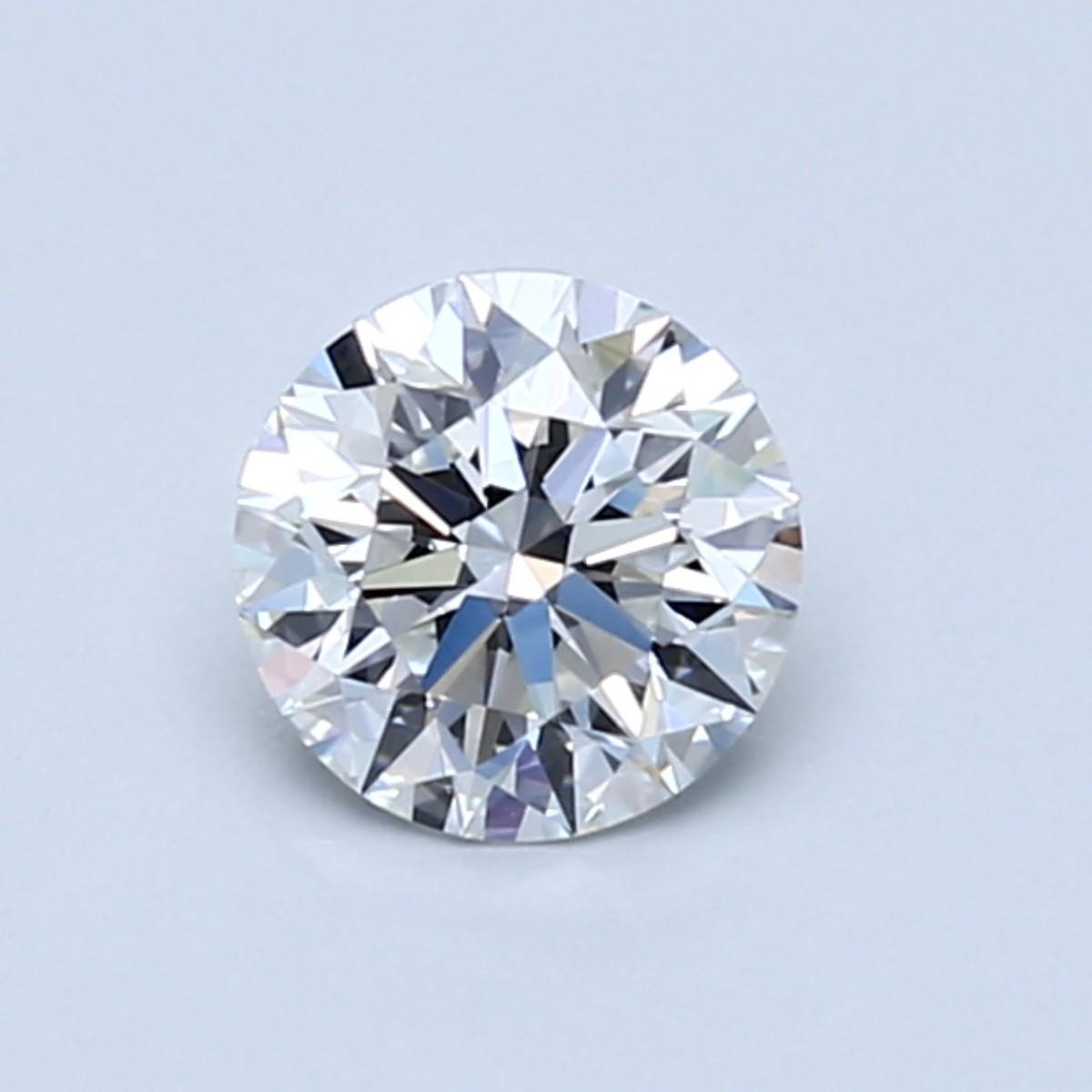 Blue Nile 0.73克拉圆形切割钻石