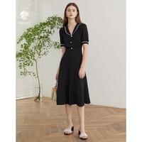 范思蓝恩 Z201324 女士复古气质连衣裙