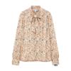 UNIQLO 优衣库 432111 女装花式蝴蝶结领衬衫