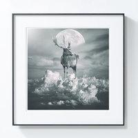 艺术品【PICAPhoto】波兰艺术家托马什·扎切纽克 摄影作品《云鹿》