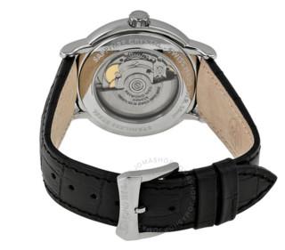 RAYMOND WEIL 蕾蒙威 大师系列 2837-STC-65001 男款机械表 39.5mm 银色 黑色 皮革