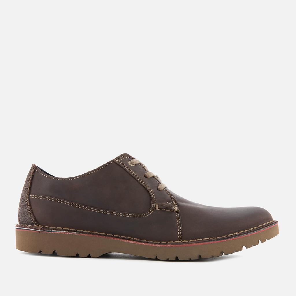 Clarks 其乐 Vargo Plain Leather Derby沙漠靴