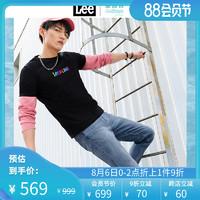Lee商场同款精玉透凉男九分牛仔裤2020春夏新款潮流L147315EE78G