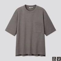UNIQLO 优衣库 U系列 422995 中性款宽松圆领T恤