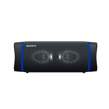 SONY 索尼 SRS-XB33 防水重低音 无线扬声器/蓝牙音响 三维音效 约24小时续航 IP67防水防尘 黑色