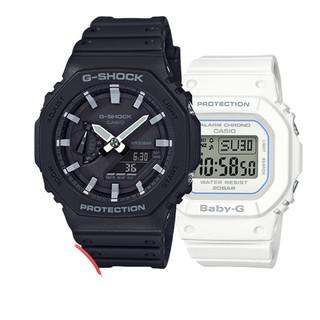 CASIO 卡西欧 GA-2100-1A/ BGD-560-7A 情侣款时尚限量手表2块