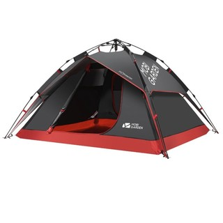 MOBI GARDEN 牧高笛 EX19561002 3-4人全自动速搭帐篷 +凑单品