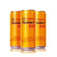 京东PLUS会员、限地区:TSINGTAO 青岛啤酒  皮尔森啤酒  500ML*12罐 *3件