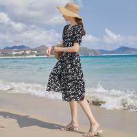 3COLOUR D029009L20 女士印花连衣裙 +凑单品