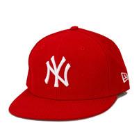 凑单品、银联专享:NEW ERA 纽亦华 儿童59Fifty平檐棒球帽