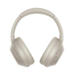 SONY 索尼 WH-1000XM4 耳罩式头戴式蓝牙降噪耳机 铂金银