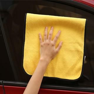 卡萨雷兹 双面擦车毛巾 30*20cm 4条+ 蓝色擦车巾30*30cm 1条 +凑单品